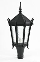 70-250W MHL or HPS illuminant post light with IP54