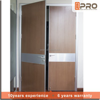 office door design aluminum frame MDF door