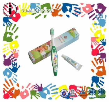 Hot Sale Safe Children Baby Training Toothbrush