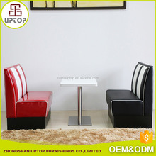 High end American bel air diner sofa restaurant tables and chairs