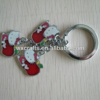 Dance Shoes Promotional Gift Metal Keychain, Key Ring