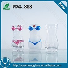 Drinking glass novelty hot sexy women shaped shot glass
