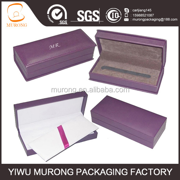 Leather fountain pen gift packaging box,pen case