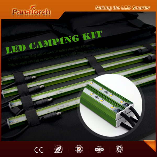 PanaTorch 2015 Hot Selling Led Emergency Light Kit IP65 Waterproof PS-B5221A cigarette plug with padded carry bag