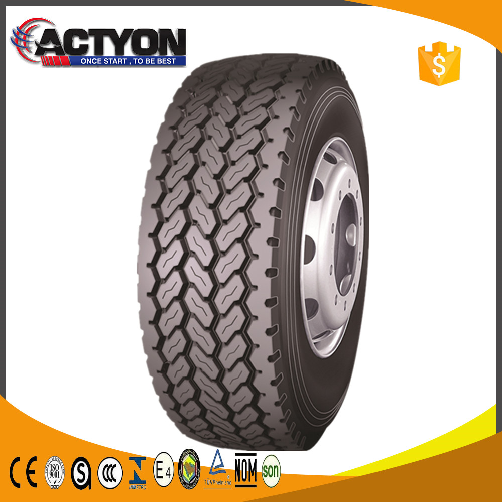 385/65r22.5 wide base truck new tyres