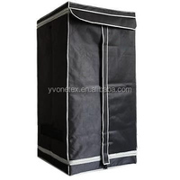 PEVA 600D High quality fashion hydroponic growtent /greenhouse grow tent 60 x 60 x 120 cm