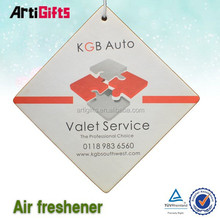 professional product custom paper air freshener