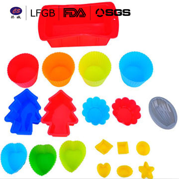 Hot Sale In USA BAP Free FDA Approved Silicone Muffin Cup/ Mini Cakes Silicone Bakeware/ Silicone Cupcake Liners