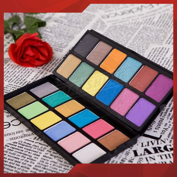 Makeup mixing palette multi colors cosmetic eyeshadow palette supplier