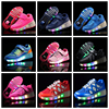 china wheels roller shoes factory skate roller shoes with wheel , led children kids light up 1 2 roller skate wheel shoes