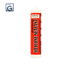 One component acetic fast curing middle quality silicone sealant Item-A301V in big drum or in 300ml cartridge