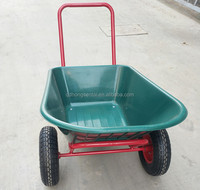 Agricultural building construction hand tools garden cart agthree wheels wheelbarrow WB3500