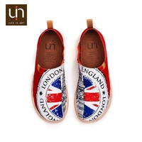 UIN London Jack printed canvas shoes for men top brands UK fashion breathable custom man sneakers