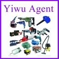 Yiwu power tools china buying agent