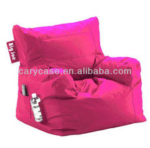 Comfort Research Big Joe Dorm Bean Bag Chair in HOT PINK, Modern New design beanbag sitting chair ,
