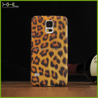 Gold leopard design case cover skin for samsung galaxy s5 i9600 direct buy china