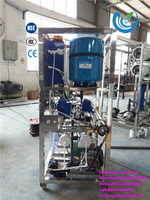 1T/D Blue color moveable salty seawater desalination plant