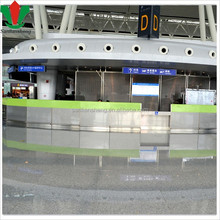 functional reception counter round shaped design