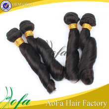 Top grade unprocessed and wholesale brazilian extension 100 human hair