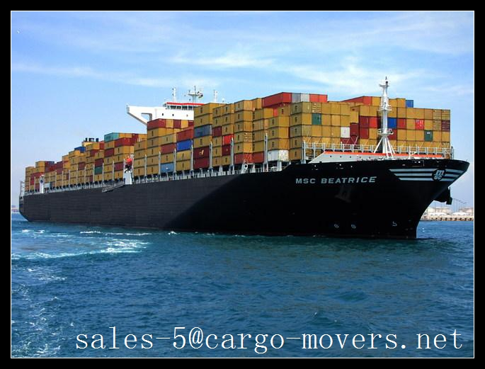 Ocean/Sea Freight Rates for light frame