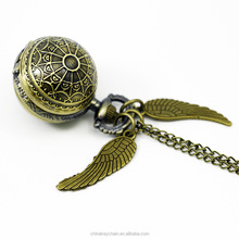 Wholesale Hot selling items movie golden snitch pocket watch smart pocket watch for gifts