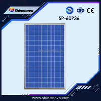 High Quality poly solar panel 60w, small size solar panel, pv solar panel price