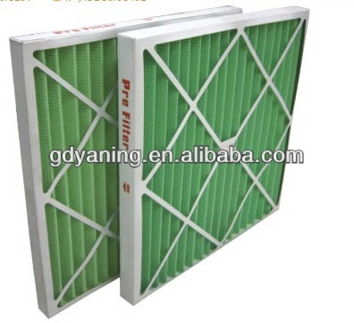 Paper frame air filter,prefilter manufacturer,