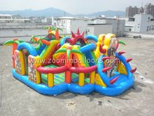 2016 Good quality inflatable bounce for outdoor activity Z2023