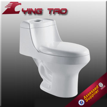 Elongated Toilet Bowl Single flush new design sanitary ware water sense toilet