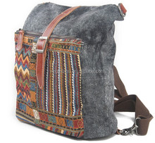 1016 Multifunctional Leisure Custom Canvas Funny Backpacks for <strong>School</strong>