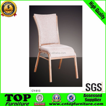 Stock stackable wholesale banquet chairs