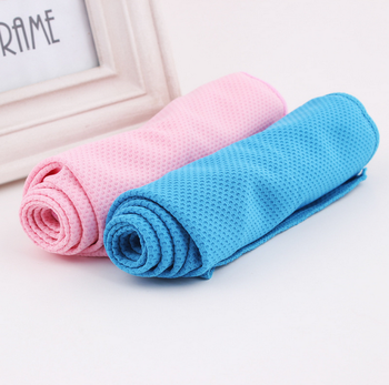 China Cheap price cooling microfiber sports towel wholesale
