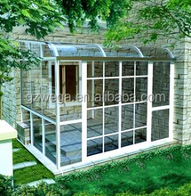 China manufacturing glass sun room for sale