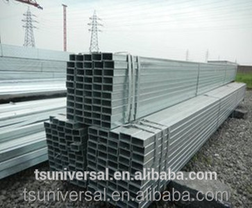 Q235B Q345B large diameter carbon welded square and rectangular tube from Tianjin Yu Xing factory ISO certification
