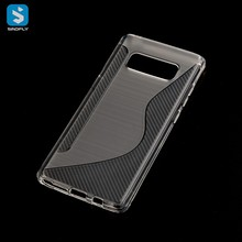 China Supplier S Line TPU Protective Cover for SAMSUNG Galaxy Note 8 Phone Case