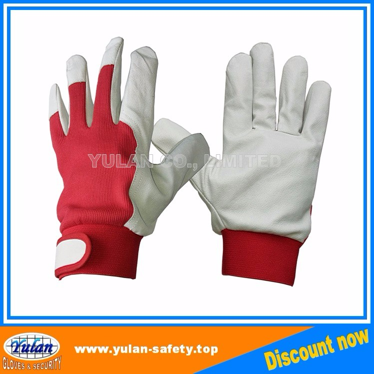 summer pig leather car driver/ driving gloves