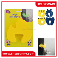 duck shape EVA material safety the door stop baby's product
