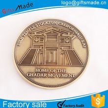 custom metal stamping coins/make your own coin decoration