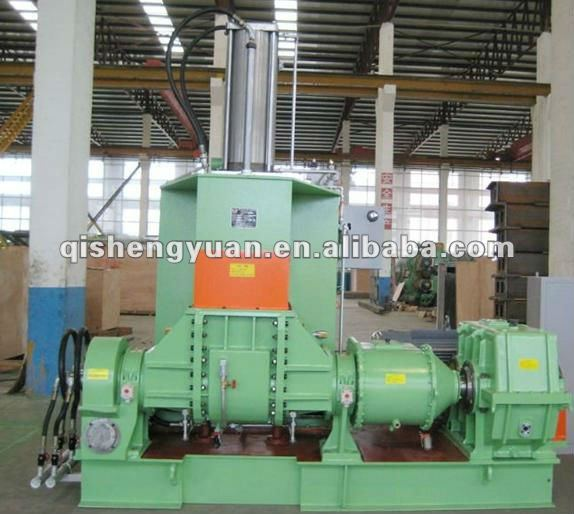 hot sales rubber kneader machine with famous brand PLC/high efficiency rubber banbury mixer