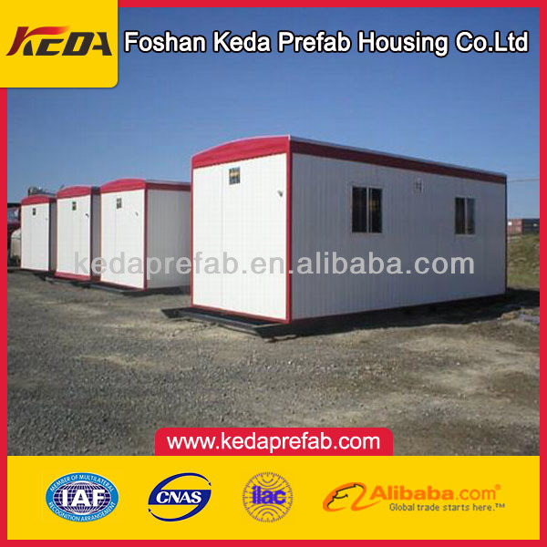 combined economic prefabricated container house used as hotel or dorm of china