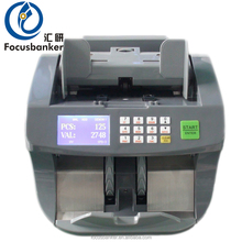 Simple Excellent Accurate desktop Banknote Currency Counter Machine piece counting
