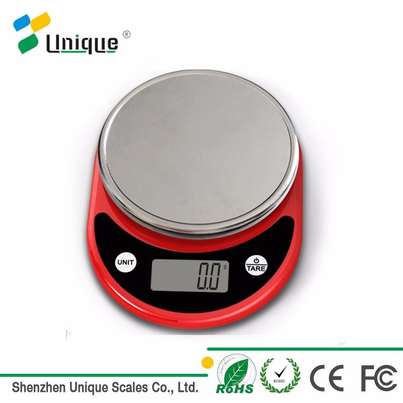 high quality 5kg digital multifunction nutrition food weighing kitchen scale