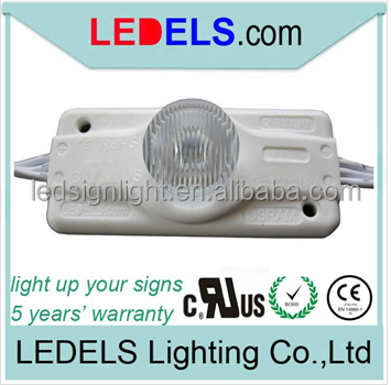 Light box sign materials led module for sign boxes 12v 2.8watt waterproof