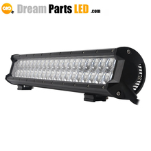 High quality 20inch 4x4 126w offroad led light bar with 4D led light for trucks atvs