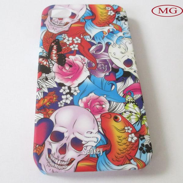 for legoo iphone 5 case with silk printed oem picture
