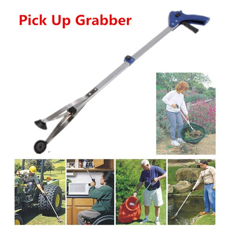 Folding Reach Extender Rubbish Pick Up Reaching Tool