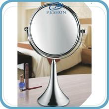 Brass Wall Mounted Cosmetic Mirror; High Quality Telescopic Magnifying Mirror