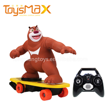 New Product Idea 2.4ghz Electric Skateboard Remote Control Bear RC Magic Skateboard Toy
