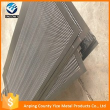 316l stainless steel circle round hole metal mesh perforated screen