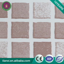 Chinese brand high quality 595*595mm false plastic ceiling tiles south africa